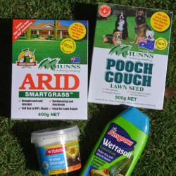 Lawn Seed & Water Savers